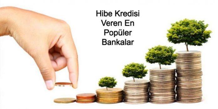 hibe kredisi veren en popüler bankalar