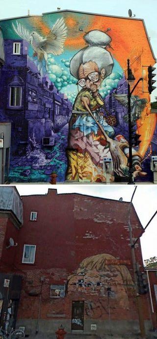 sokak resim sanatından en iyi 16 kare