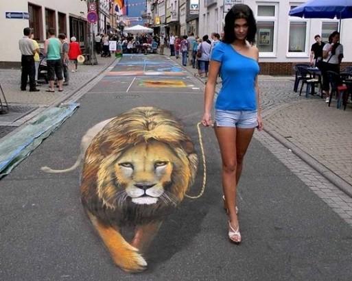 Çılgın sokak sanatçılardan 15 muhteşem kare
