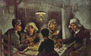 Patates Yiyenler Tablosu (The Potato Eaters)