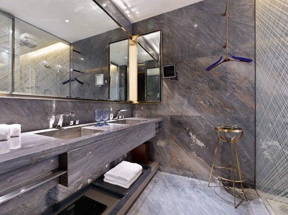 banyo Dekorasyonda Mermerin Gücü