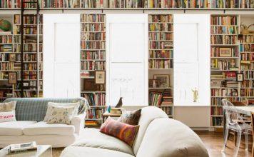 Salon Dekorasyonunda Kitaplık Kullanımı