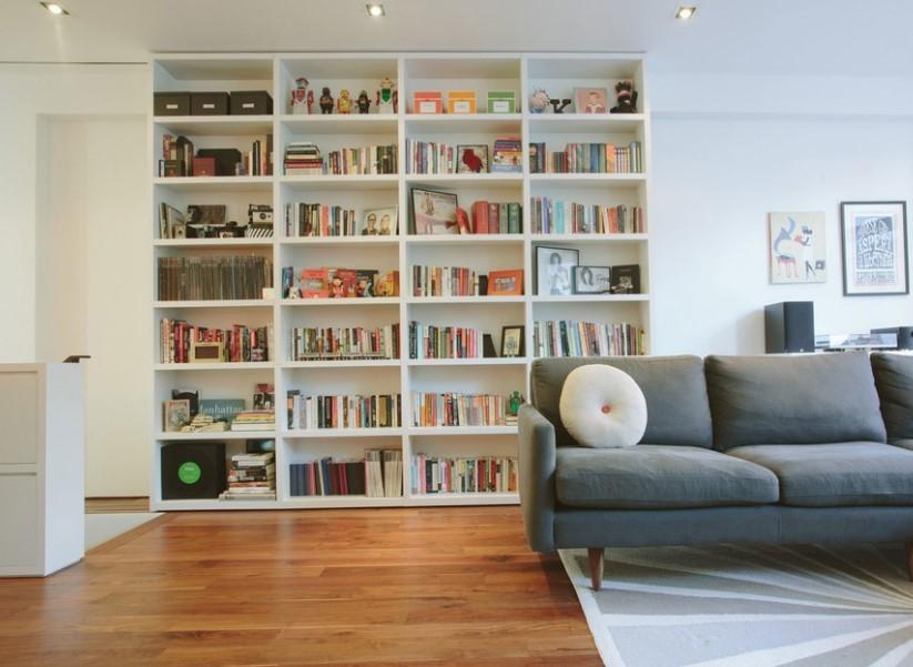Salon Dekorasyonunda Kitaplık