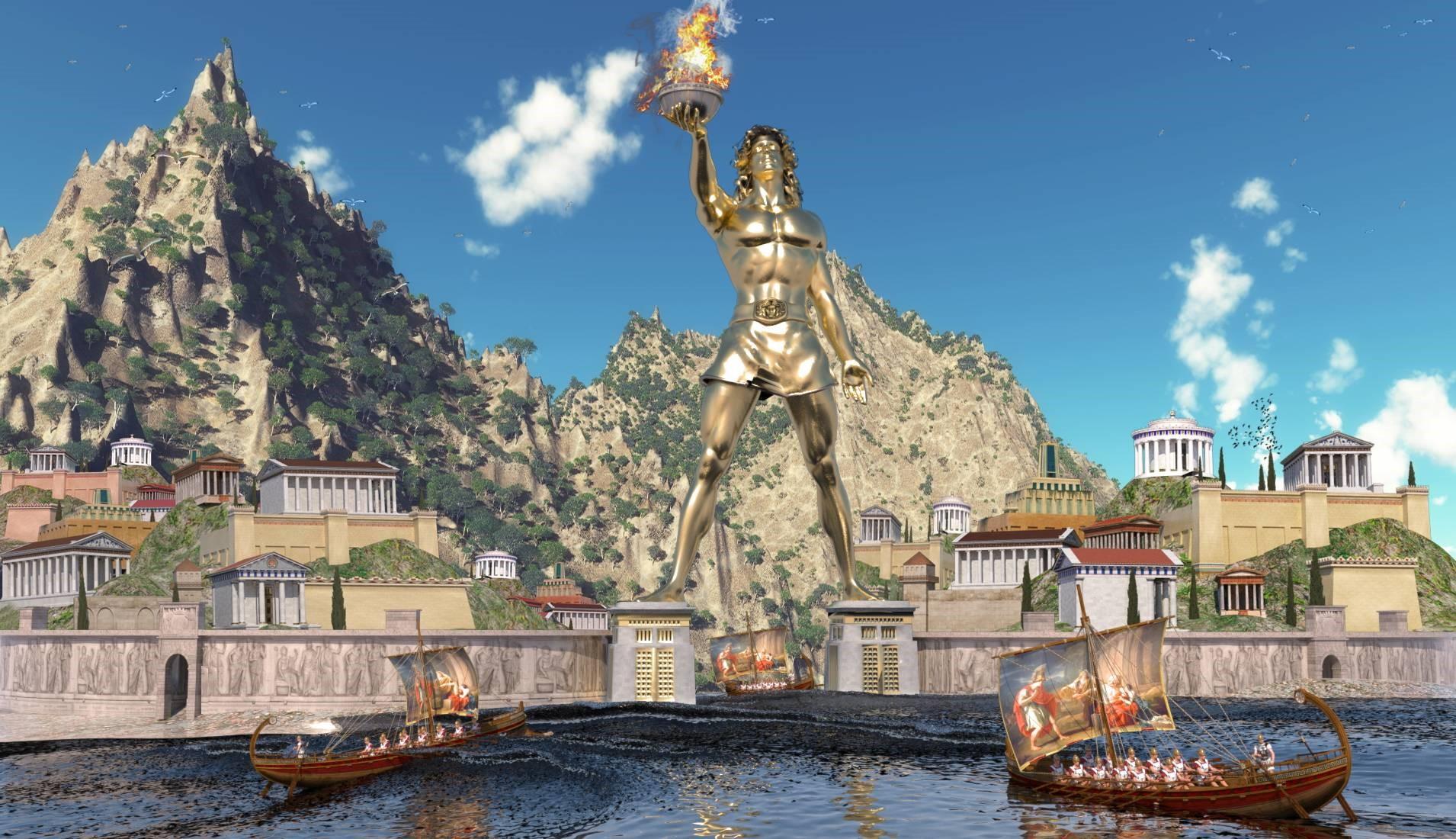 Rodos Heykeli Tarihçesi